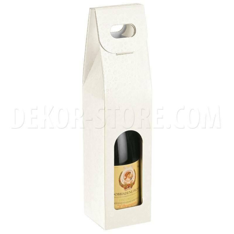 scotton spa scotton spa scatola 1 bottiglia con maniglia - sfere bianco