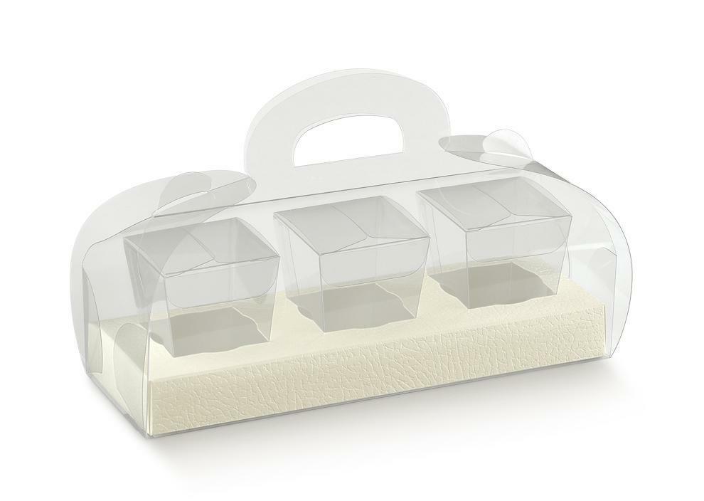 scotton spa scotton spa tortina kit 12 - 245x180x95 mm pelle bianco