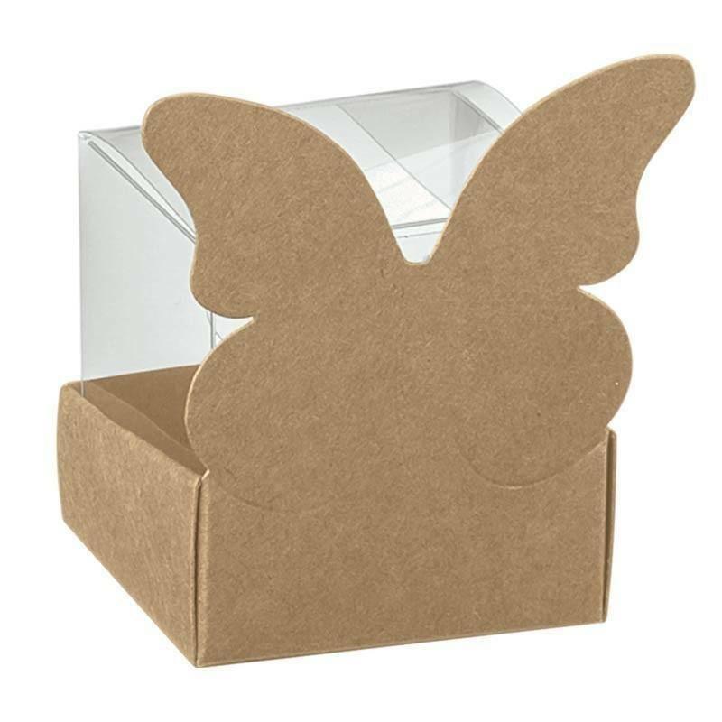 scotton spa scotton spa cestello 40x40x60 mm con farfalla avana + astuccio in pvc