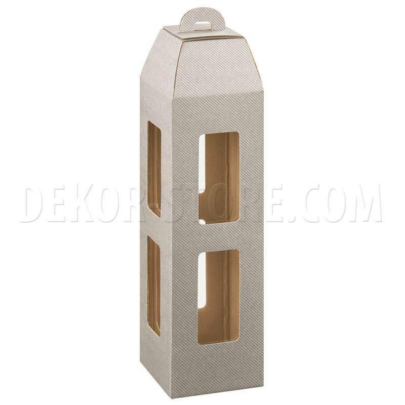 scotton spa scotton spa scatola 1 bottiglia lanterna - tortora