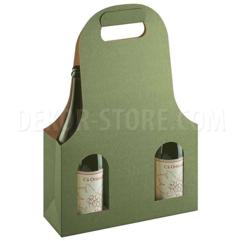 scotton spa scotton spa scatola 3 bottiglie con maniglia - linea verde - bag new