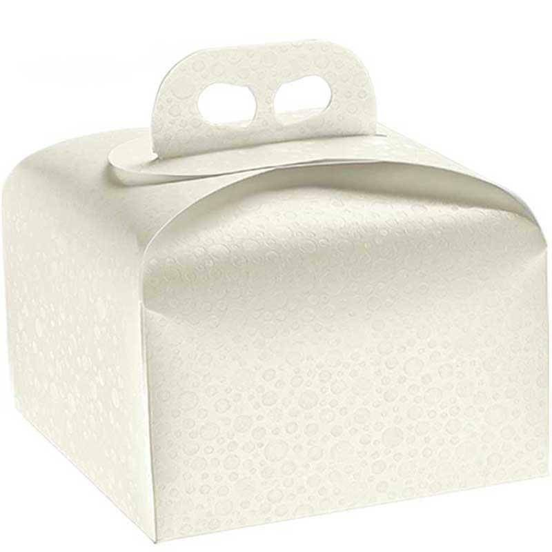 scotton spa scotton spa portapanettone 245x245x130 mm - sfere bianco