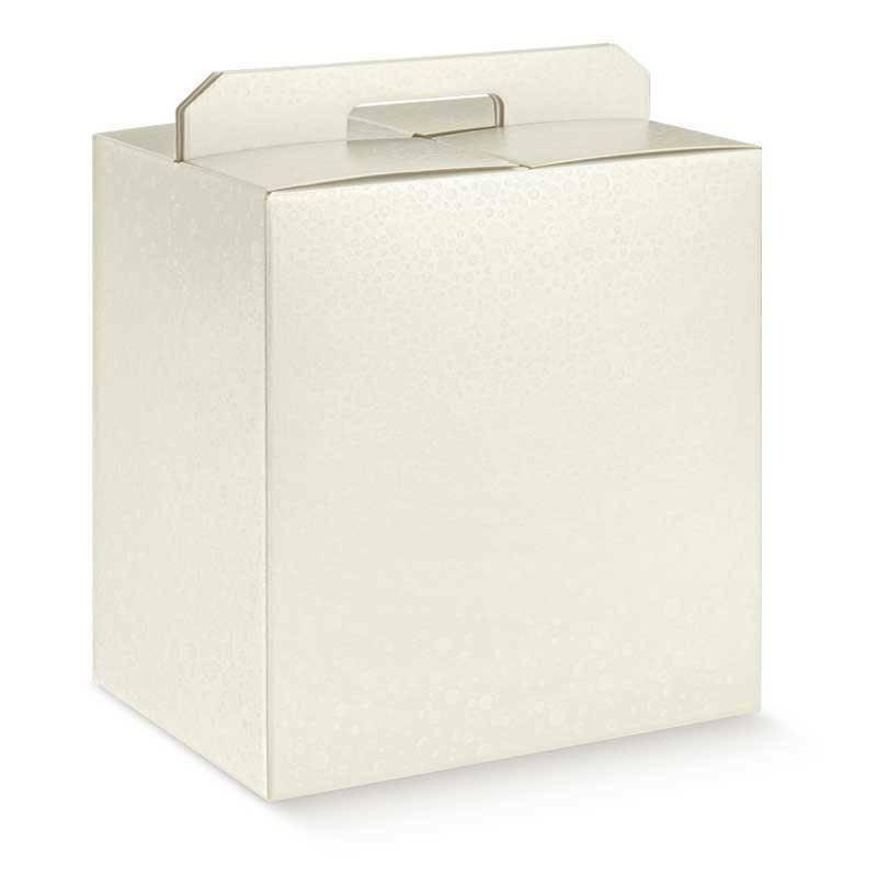 scotton spa scotton spa pacco dono con maniglia 305x225x350 mm - sfere bianco