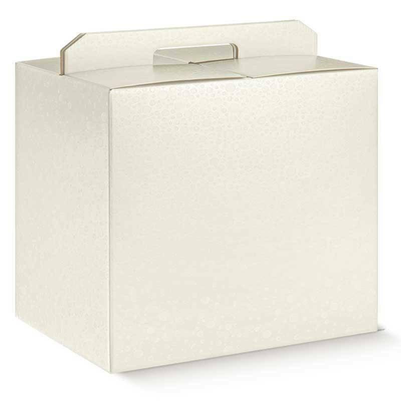 scotton spa scotton spa pacco dono con maniglia 430x240x345 mm - sfere bianco