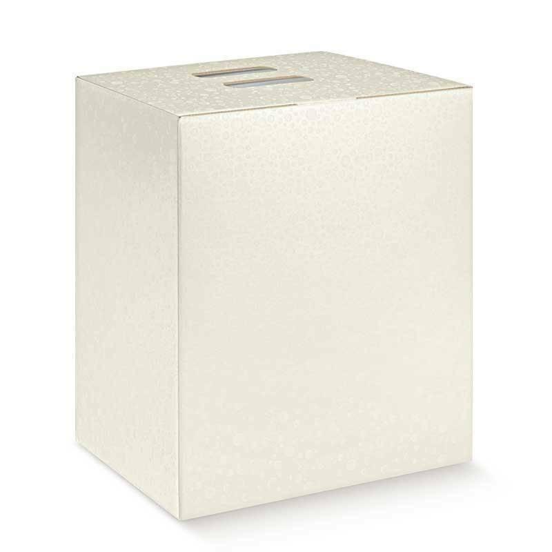 scotton spa scotton spa pacco dono cubo 245x190x340 mm - sfere bianco