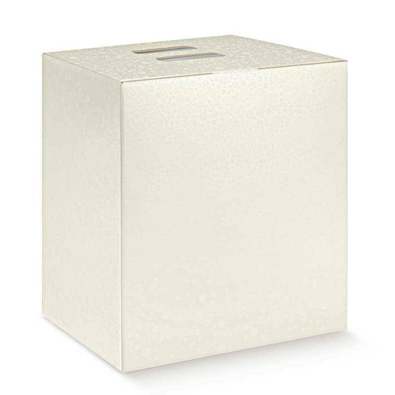 scotton spa scotton spa pacco dono cubo 280x200x350 mm - sfere bianco