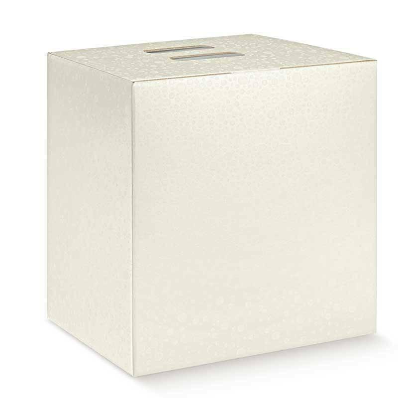 scotton spa scotton spa pacco dono cubo 305x225x350 mm - sfere bianco