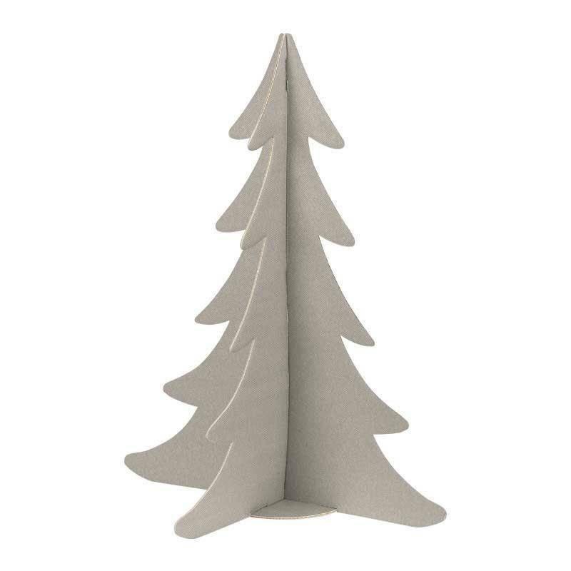 scotton spa scotton spa albero natale stilizzato h. 595 mm - cartone tortora