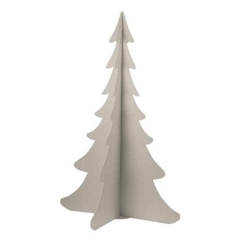 scotton spa scotton spa albero natale stilizzato h. 930 mm - cartone tortora