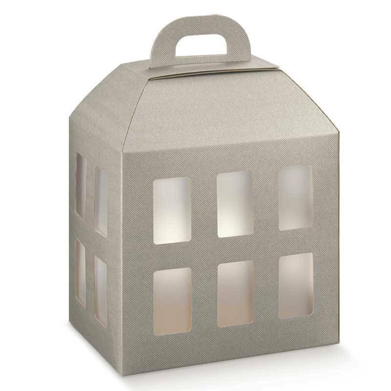 scotton spa scotton spa lanterna 300x225x365 mm - tortora con inserto ghiaccio