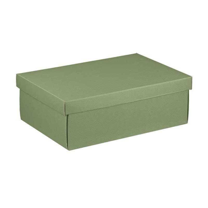 scotton spa scotton spa scatola 380x260x130 mm linea verde - fondo e coperchio