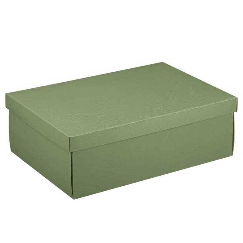 scotton spa scotton spa scatola 455x320x150 mm linea verde - fondo e coperchio