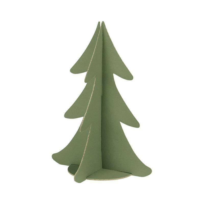 scotton spa scotton spa albero natale stilizzato h. 355 mm - cartone verde