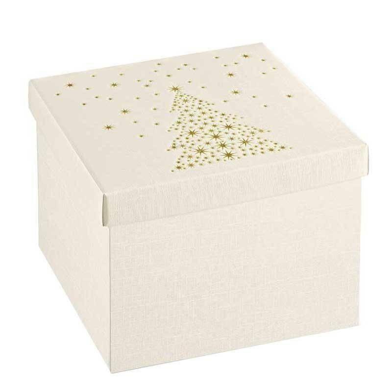 scotton spa scotton spa scatola 300x300x240mm golden tree - fondo e coperchio