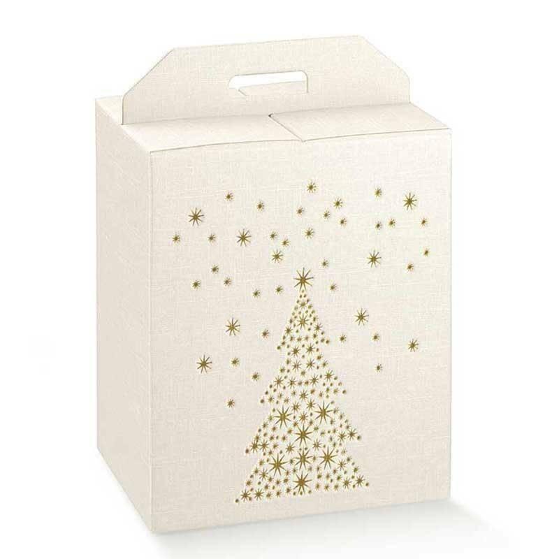 scotton spa scotton spa pacco dono cubo 280x200x350 mm - golden tree