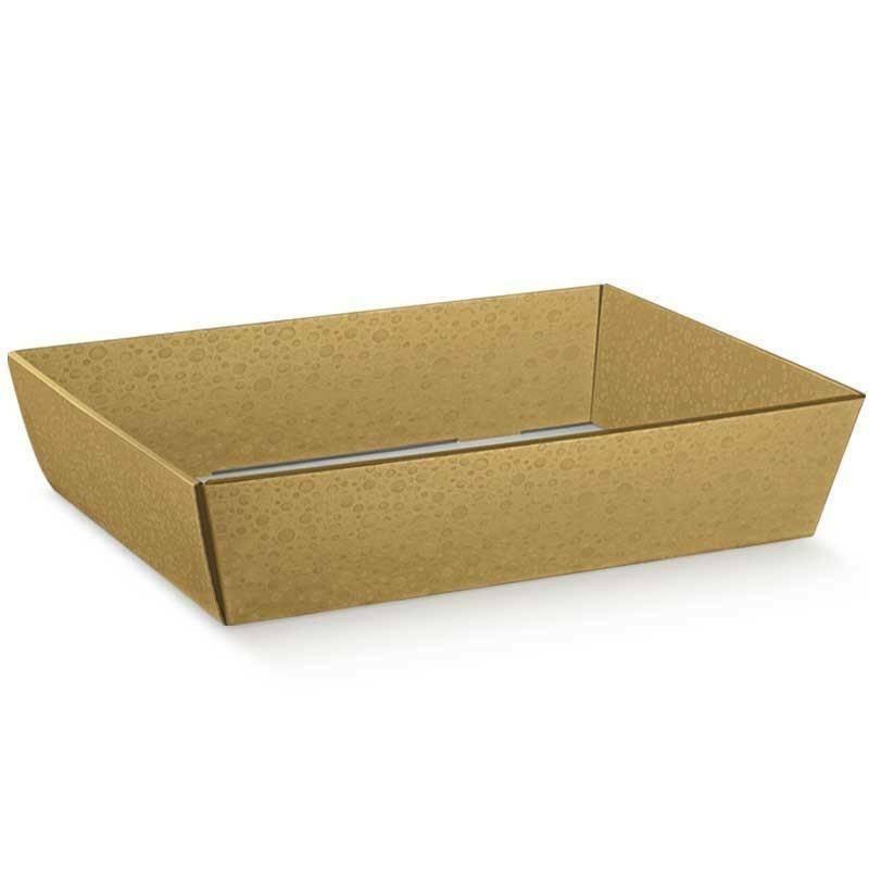 scotton spa scotton spa vassoio conico 400x300x115 mm - sfere oro