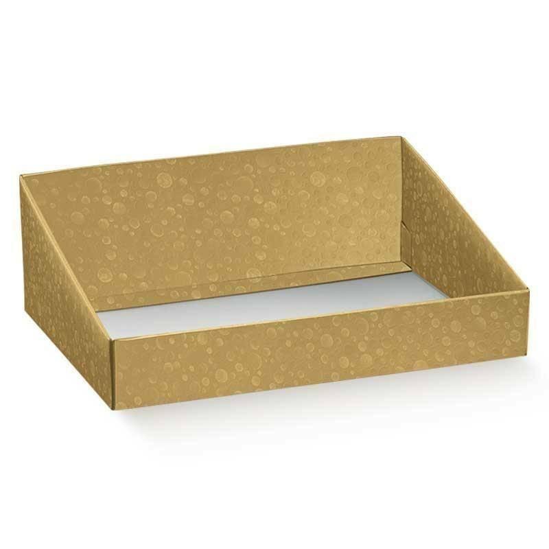 scotton spa scotton spa vassoio 400x320x150 mm - sfere oro