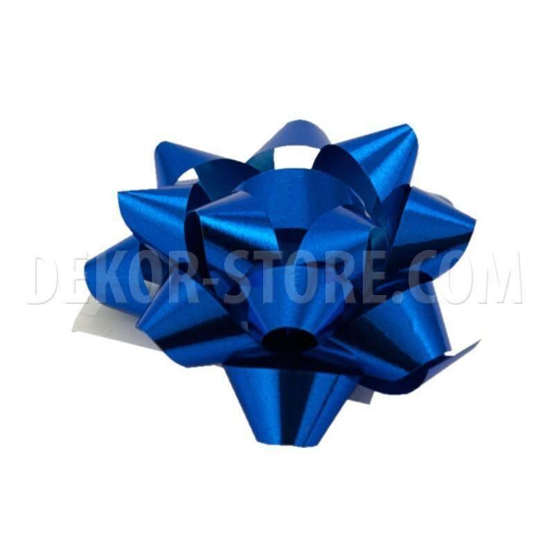 bolis stella mignon nastro reflex 7 mm blu- 50 pz