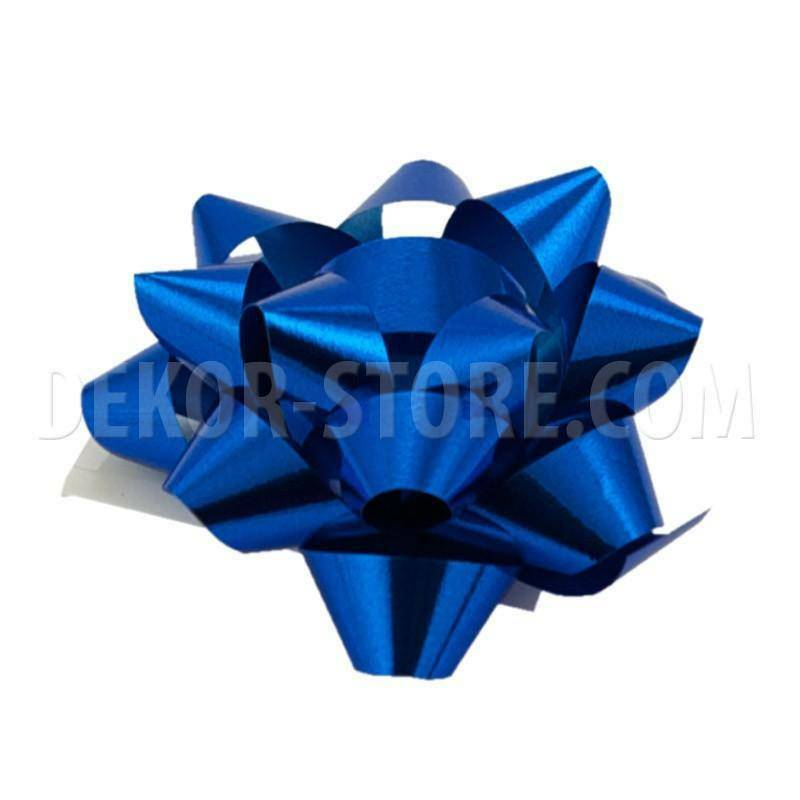 bolis stella nastro reflex 10 mm blu- 50 pz