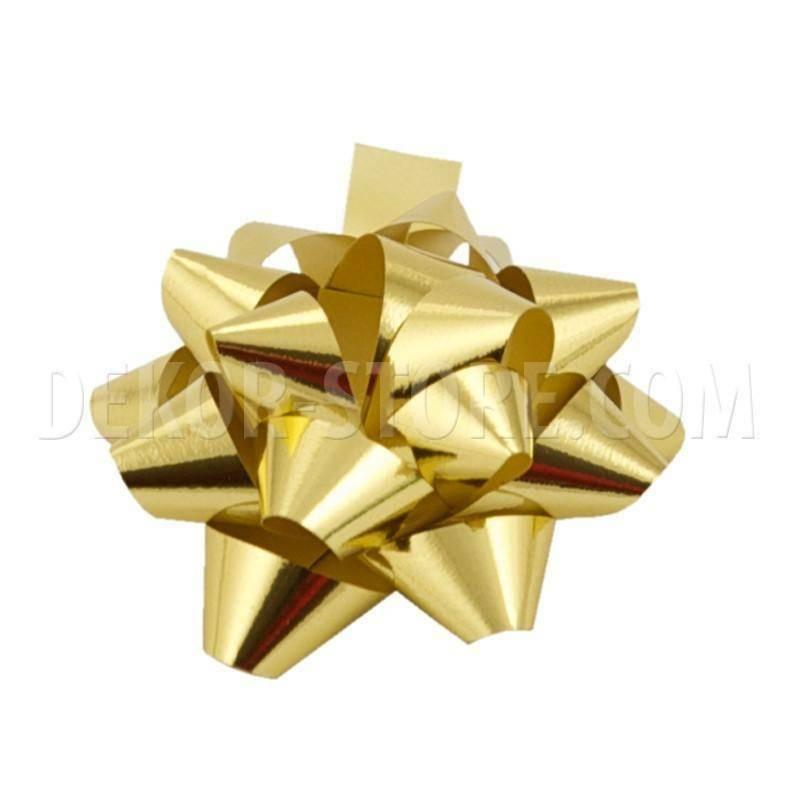 bolis stella nastro reflex 10 mm oro - 50 pz