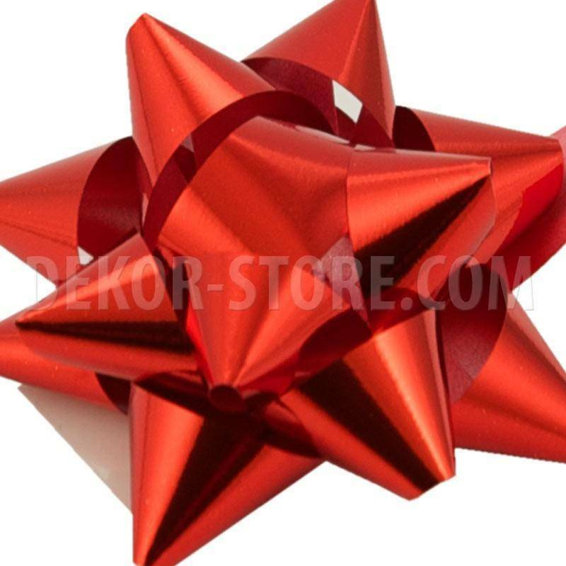 bolis stella nastro reflex 15 mm rosso - 25 pz