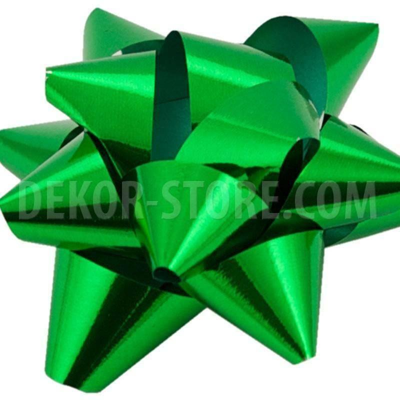 bolis stella nastro reflex 15 mm verde muschio - 25 pz