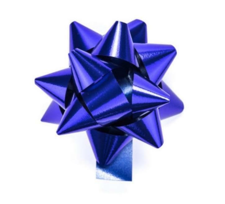 bolis stella nastro reflex 19 mm blu - 25 pz