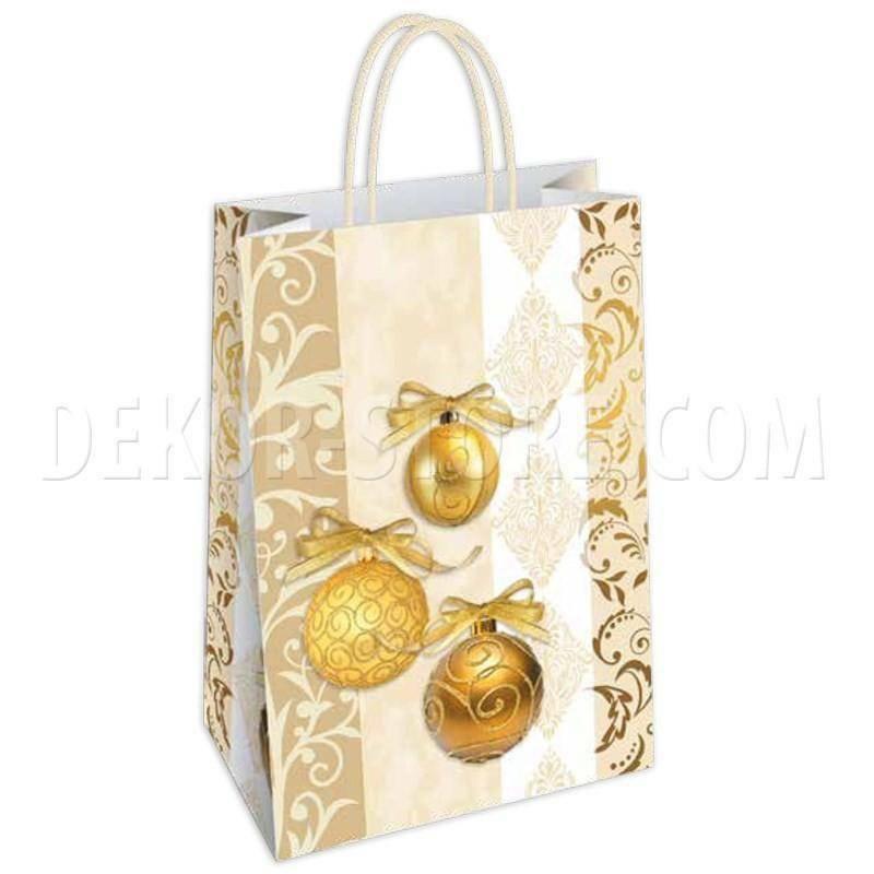 shopper in carta ginevra - 21x8x26 cm