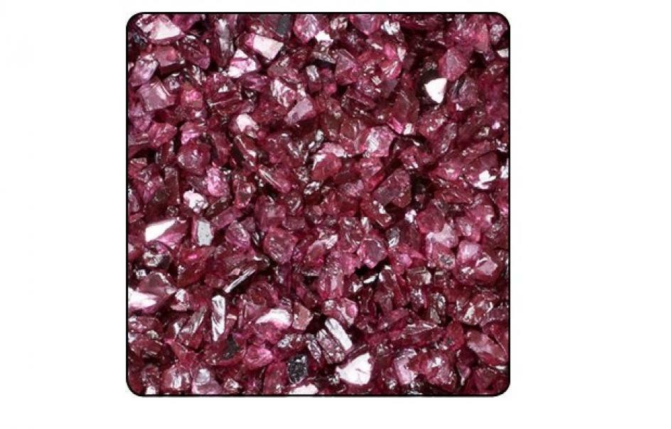 eurosand vetro specchiato 1-4 mm rosso carmine (1 kg)