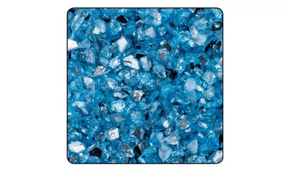 eurosand vetro specchiato 1-4 mm celeste (1 kg)