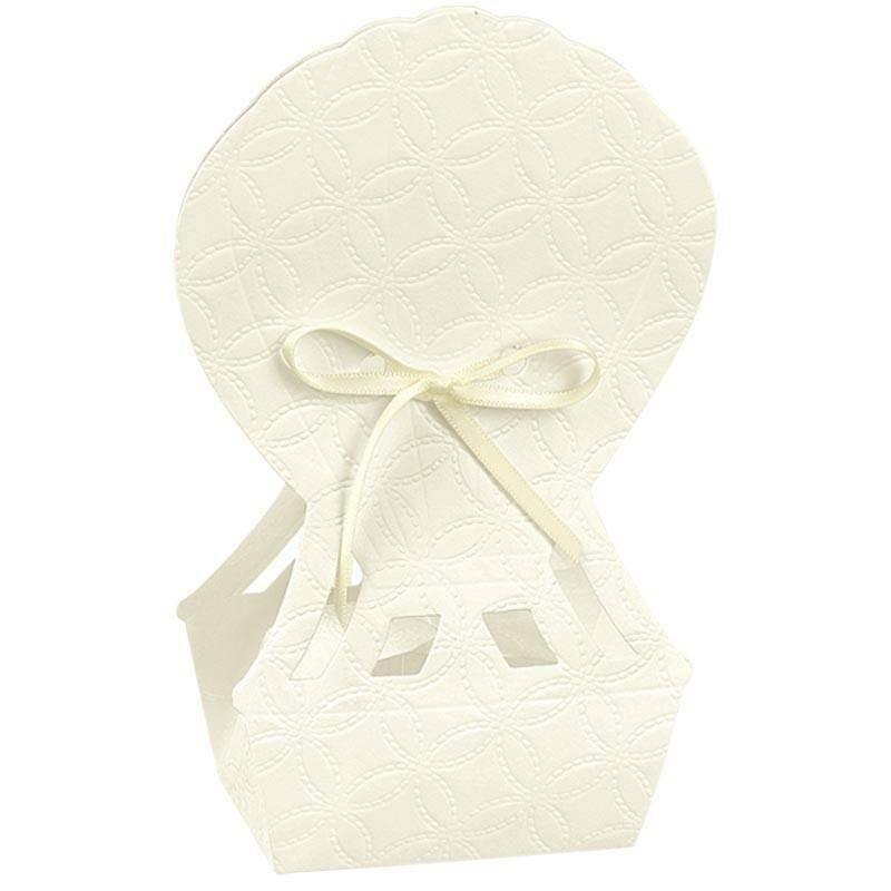 scotton spa scotton spa scatola 60x40x145 mm in cartoncino a forma di mongolfiera matelasse bianco