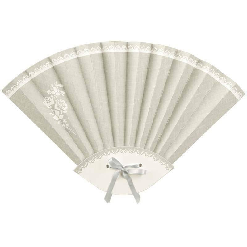 scotton spa ventaglio pieghevole in cartoncino linea rose 330x210x10 mm - 4 pz