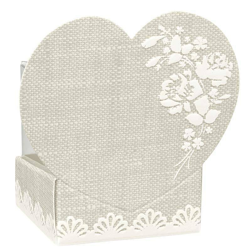 scotton spa scotton spa cestello con cuore - rose 40x40x65 mm + astuccio in pvc
