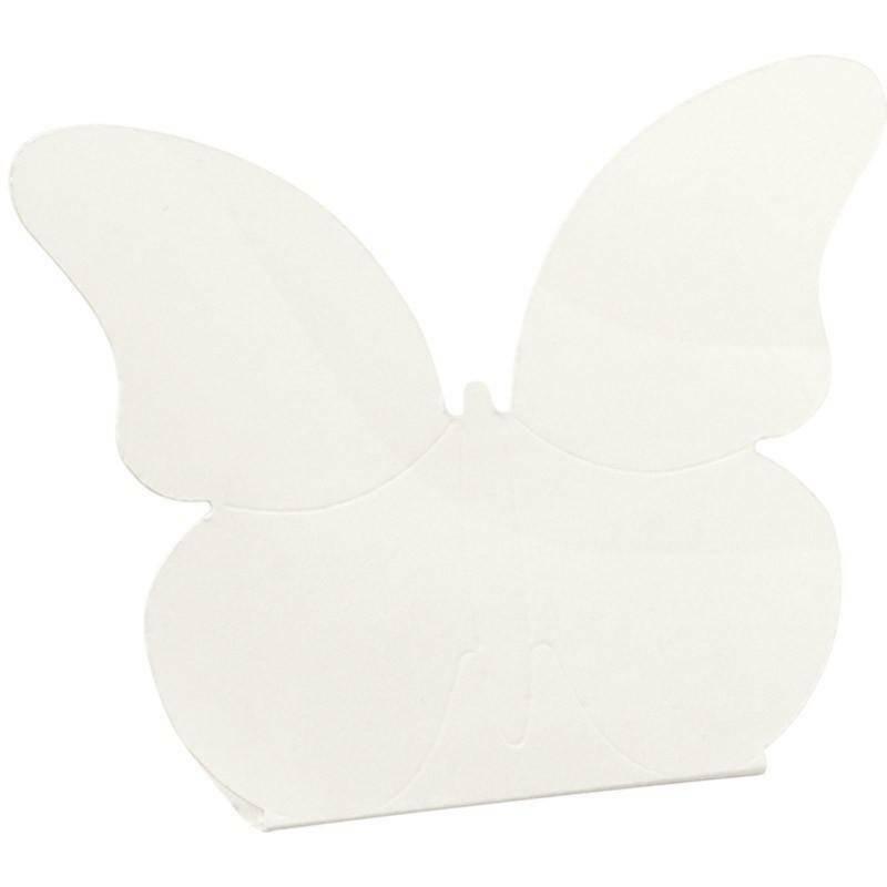 scotton spa farfalla con scatola white 60x35x90 mm - 10 pz