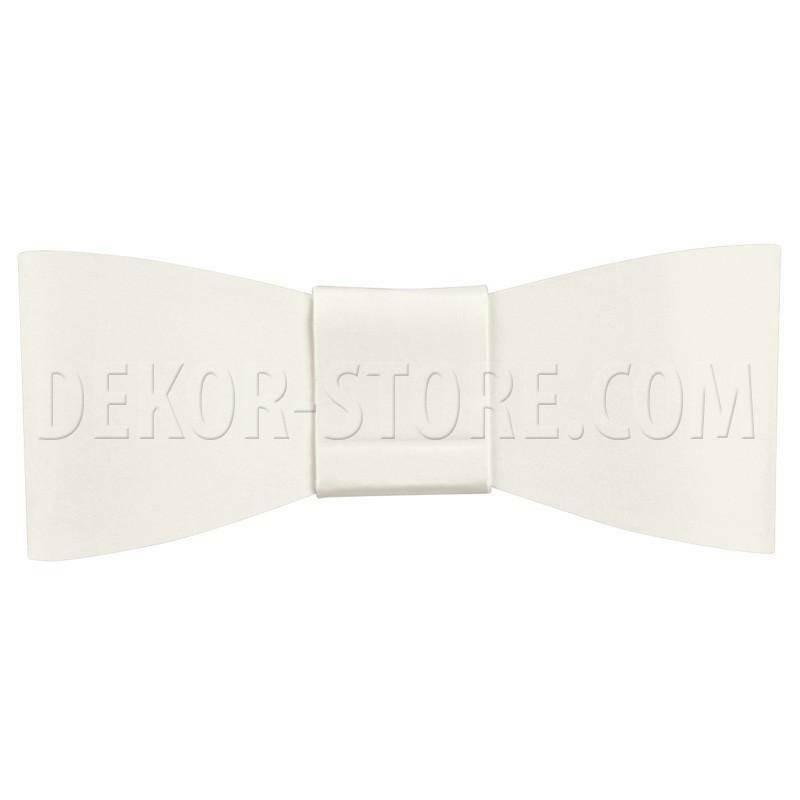 scotton spa scotton spa fiocchetto 75x30 (cf. 6 pz) mm chiudipacco cartoncino white
