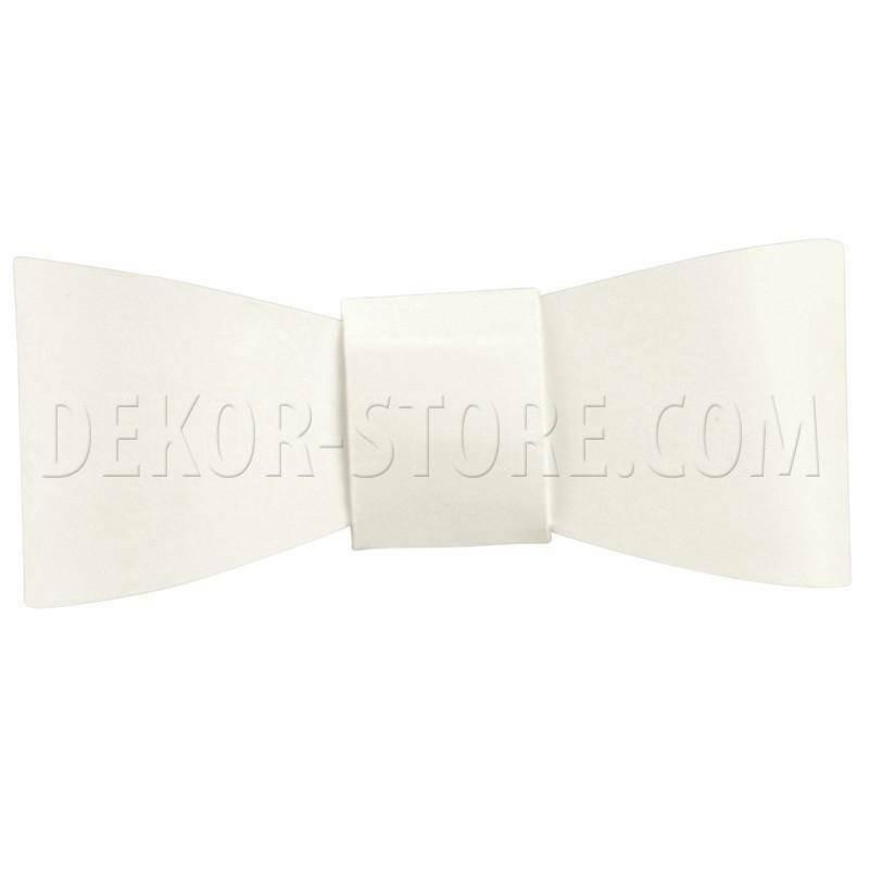 scotton spa scotton spa fiocchetto 55x20 mm (cf. 12 pz) chiudipacco cartoncino white