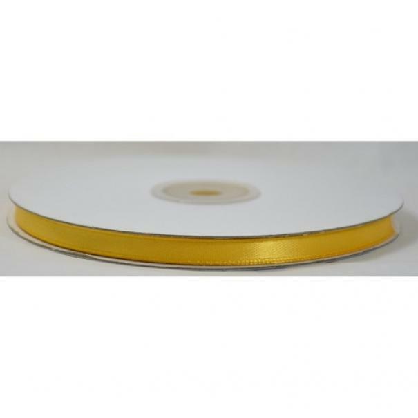 doppio raso 6 mm giallo girasole x 50 mt - satinato