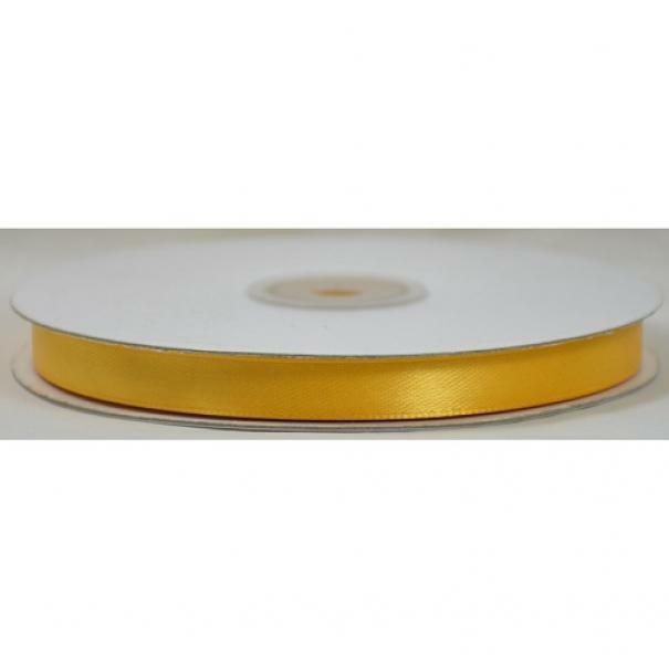 doppio raso 10 mm giallo girasole x 50 mt - satinato