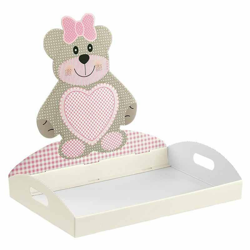 scotton spa scotton spa vassoio 435x290x45 mm teddy bear rosa