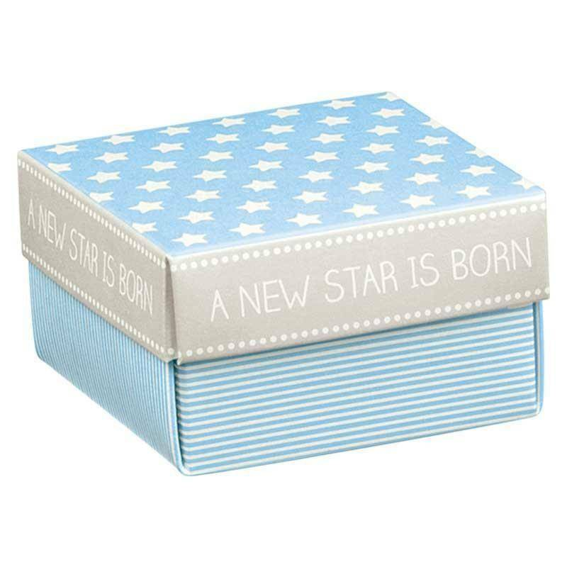 scotton spa scotton spa scatolina star azzurro 60x60x35mm - fondo e coperchio