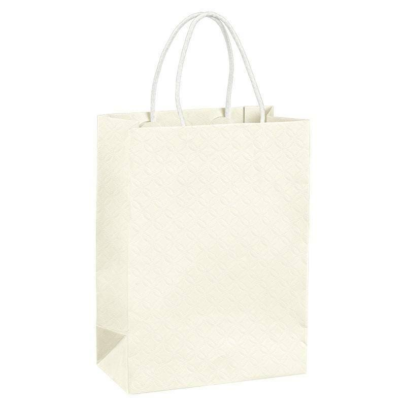 scotton spa scotton spa shopper cordino 190x90x250 mm - matelasse bianco