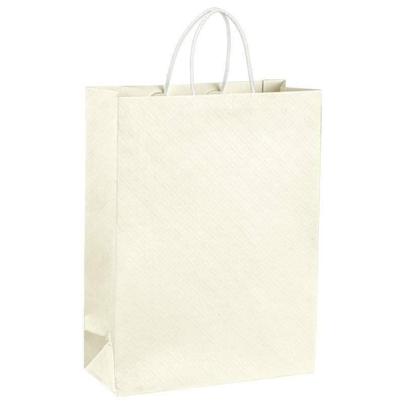 scotton spa scotton spa shopper cordino 270x110x350 mm - matelasse bianco