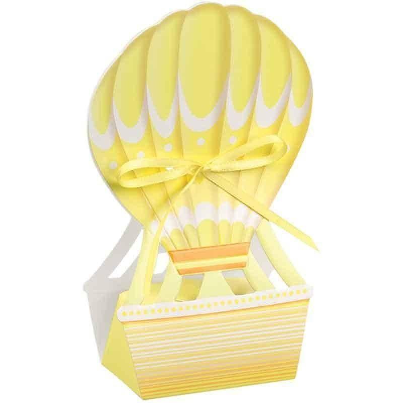 scotton spa scotton spa scatola 60x40x145 mm in cartoncino a forma di mongolfiera festa