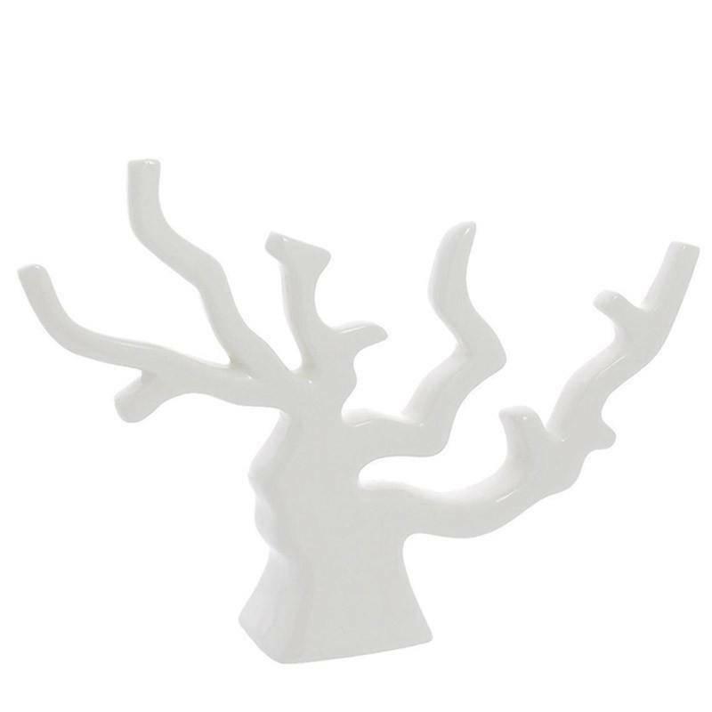 corallo piccolo 16x12 cm in porcellana bianca