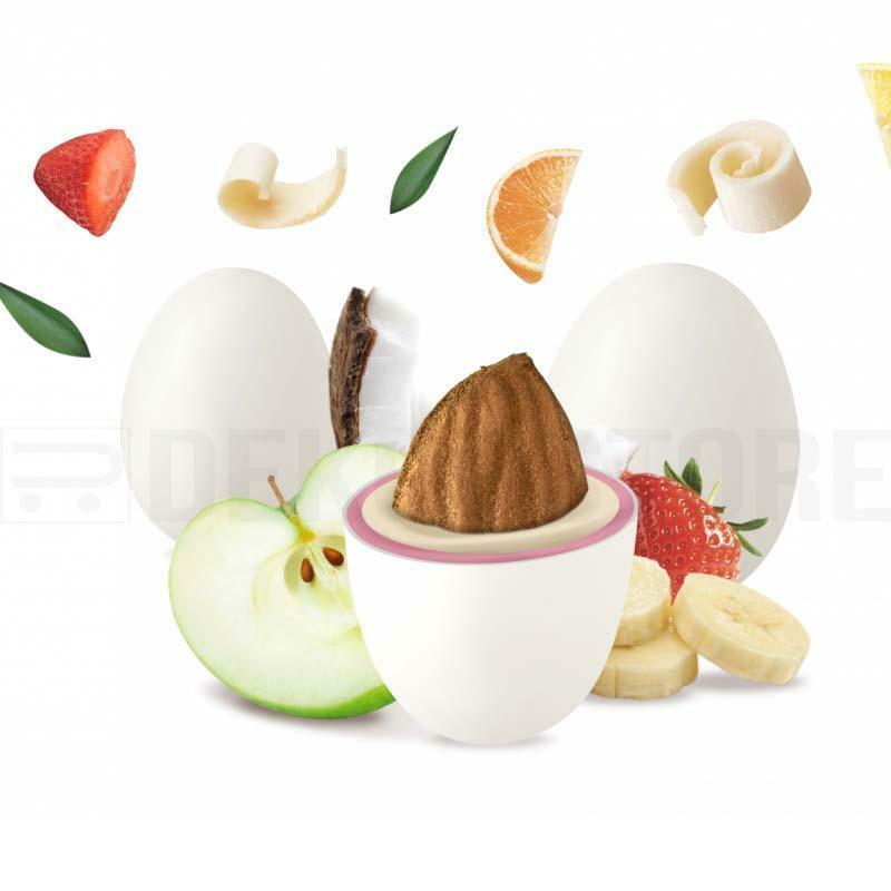 maxtris confetti maxtris frutta bianchi - 1 kg