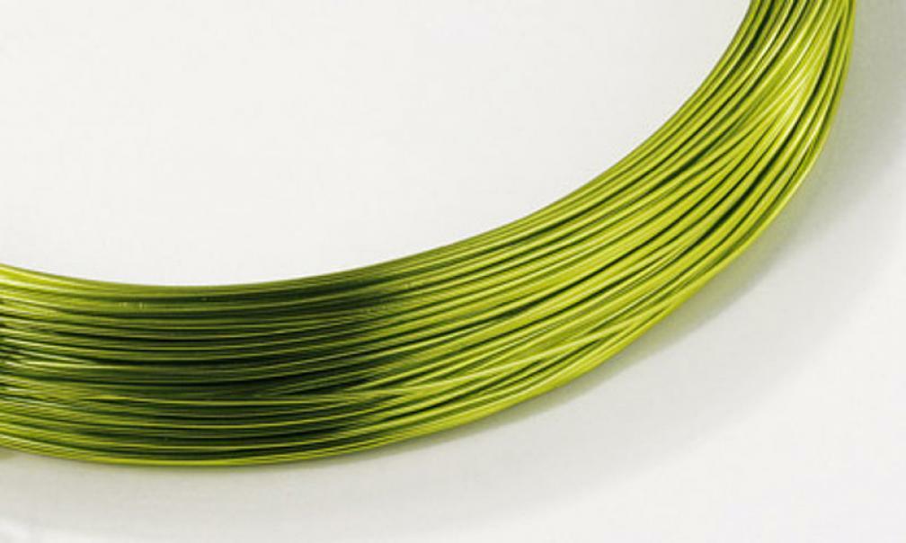 alluminio verde mela 2 mm x 12 metri