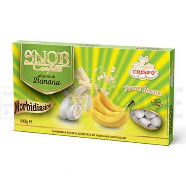 crispo confetti crispo banana - snob 500 gr