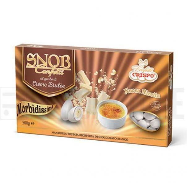 crispo confetti crispo creme brulee - snob 500 gr