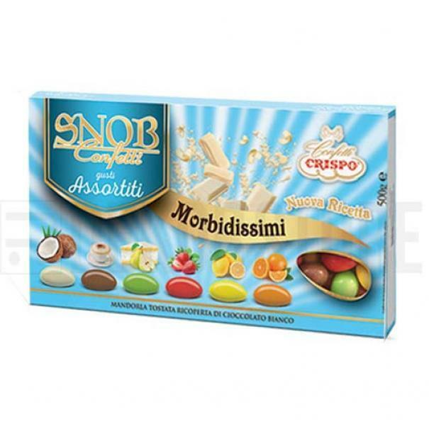 crispo confetti crispo gusti e colori assortiti - snob 500 gr