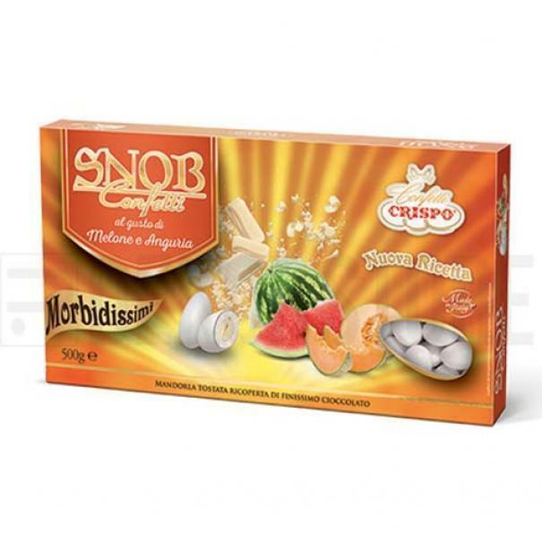 crispo confetti crispo melone e anguria - snob 500 gr